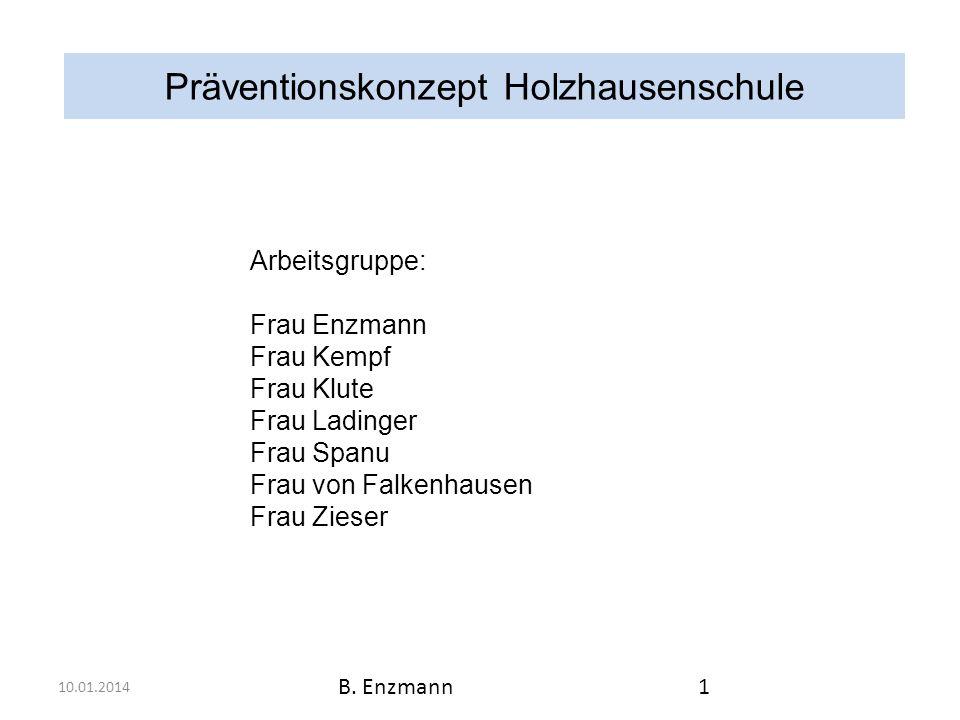 Präventionskonzept Holzhausenschule 4.