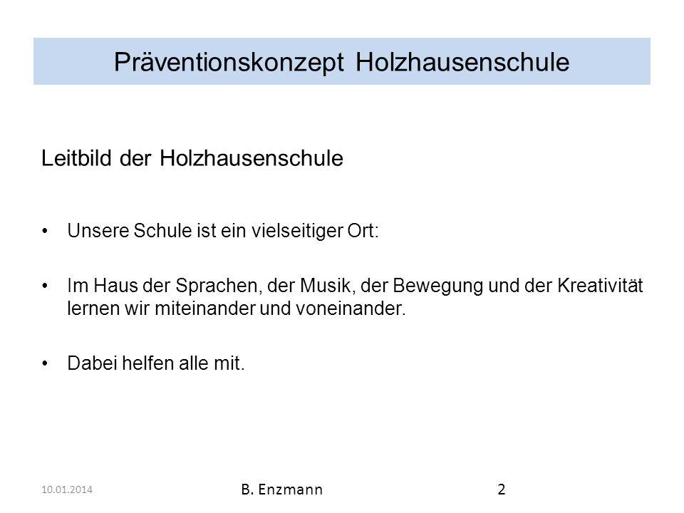 Präventionskonzept Holzhausenschule Tipps für Kinder von Emanuel, Maja, David und Joana: Du darfst immer bei der Polizei anrufen, wenn du Hilfe brauchst, außer zum Spaß.