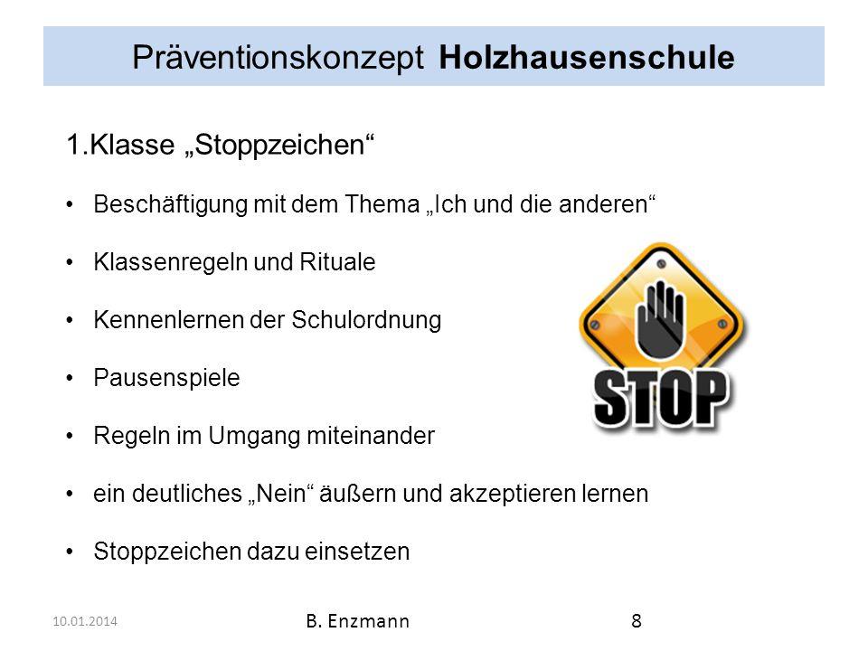 Präventionskonzept Holzhausenschule 10.01.2014 B.Enzmann9 2.