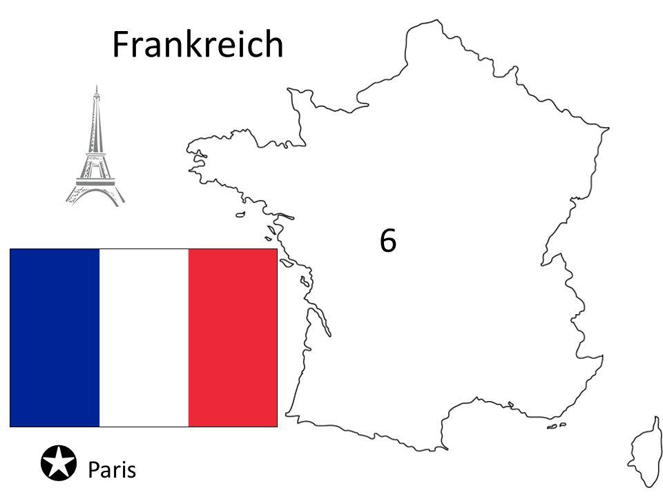 Frankreich Paris 6