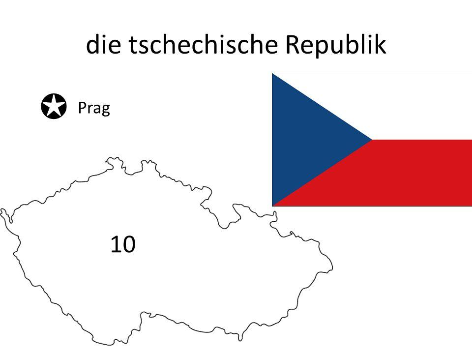 die tschechische Republik Prag 10