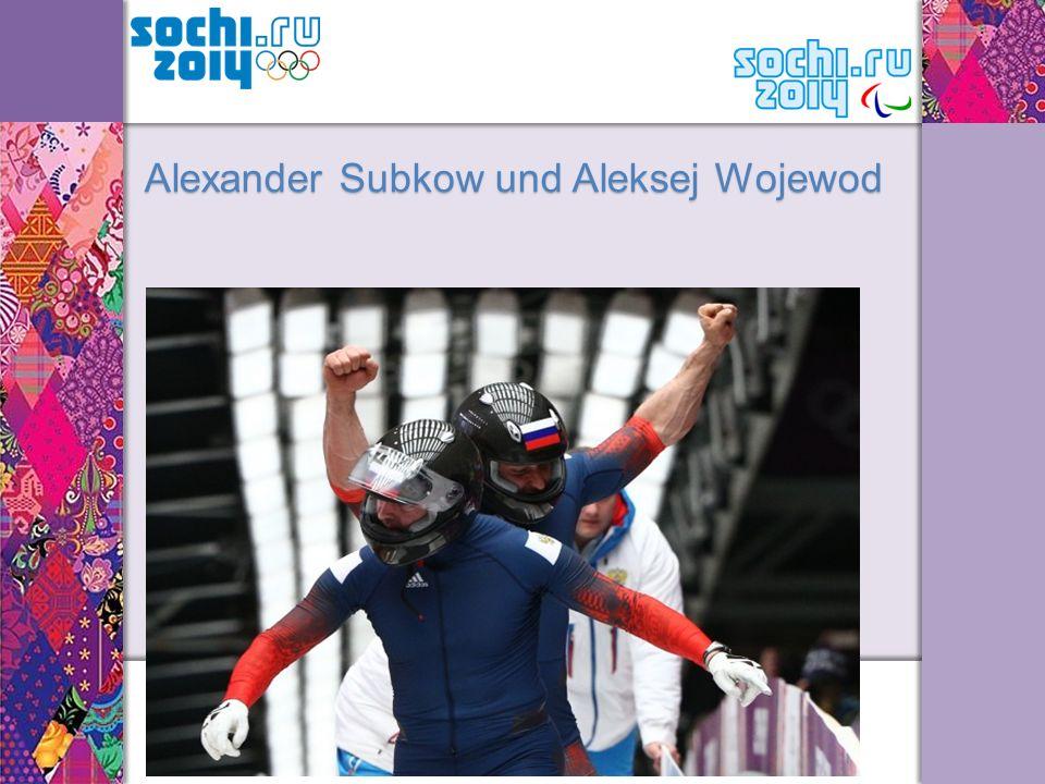 Alexander Subkow und Aleksej Wojewod