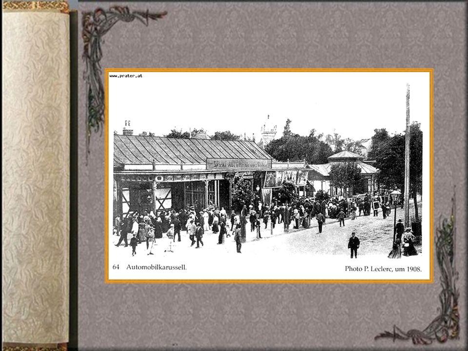 1928 wurde die heute noch fahrende Liliputbahn, eine verkleinerte Form der großen Dampflokomotiven, in den Prater gebracht!