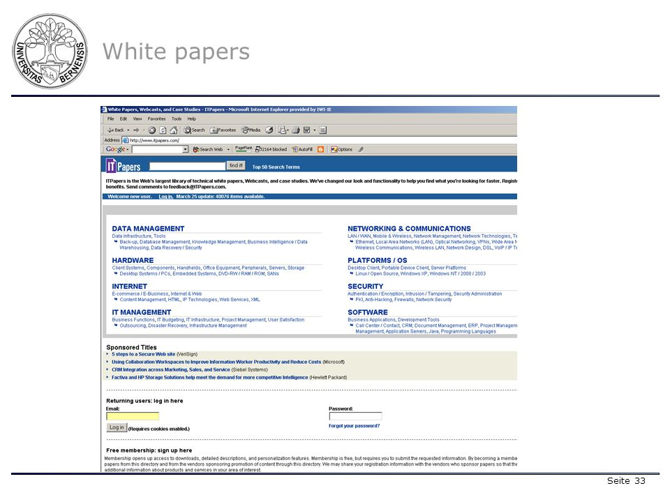 Seite 33 White papers