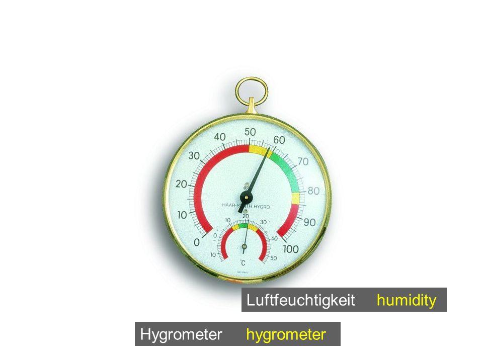 Hygrometer hygrometer Luftfeuchtigkeit humidity