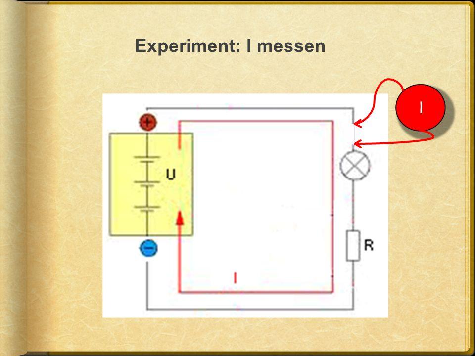 Experiment: I messen I