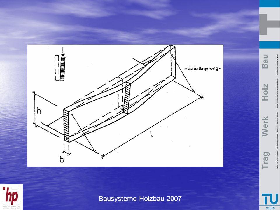 Bausysteme Holzbau 2007