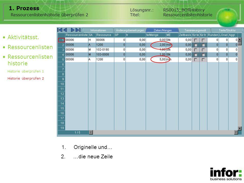 3.Prozessbeschreibung Hier zeigen wir Ihnen die Einzelheiten der Änderungsfelder.