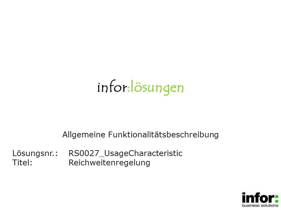 1.Systemfunktionen/Administration/Batchsteuerung Reichweitenregelung aktivieren.