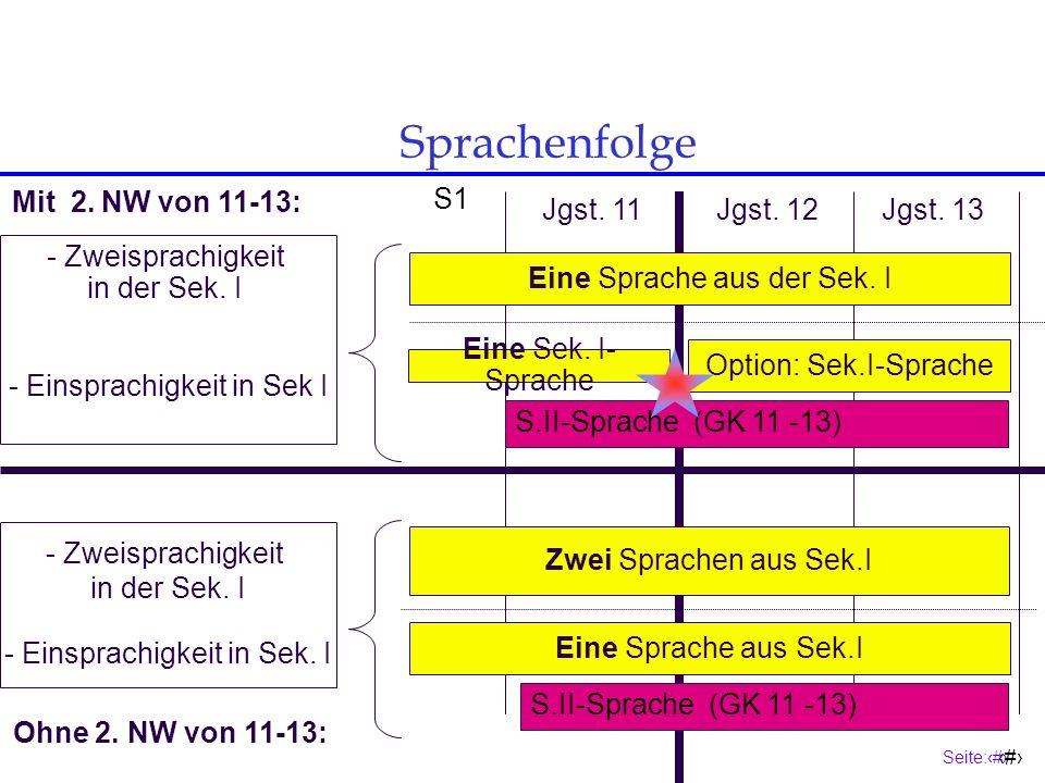 Seite:12 12 Pflichtbe- legung GSW Pflichtbelegung von Geschichte und SOWI Wer in der Jgst.11 nicht GE und/oder SW belegt und bis zum Ende der Jgst.