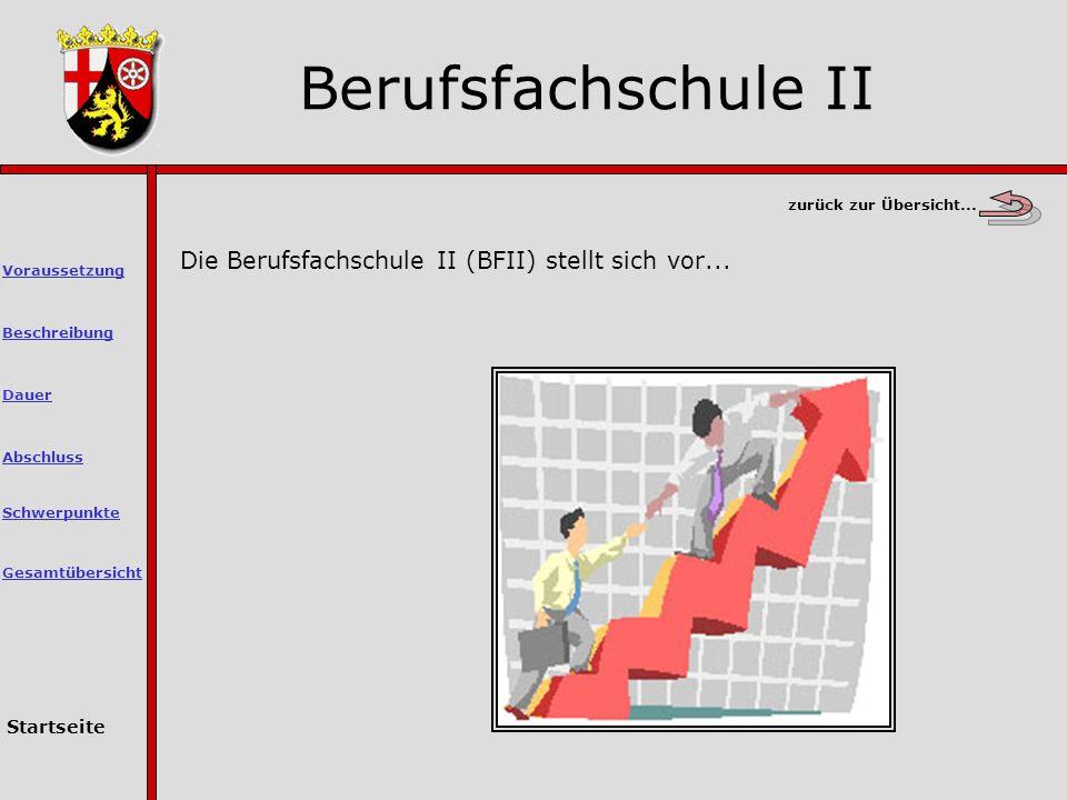 zurück zur Übersicht...Die Berufsfachschule II (BFII) stellt sich vor...