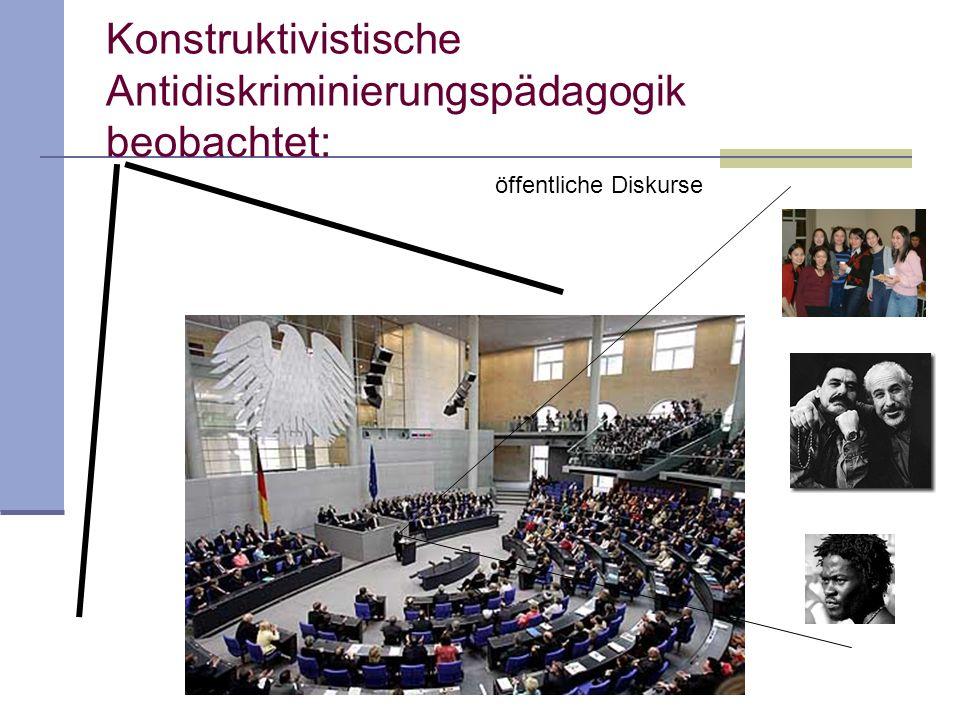 Untersuchung zur ethnischen Diskriminierung in der Organisation Schule Mechtild Gomolla/Frank-Olaf Radtke (2002): Institutionelle Diskriminierung.