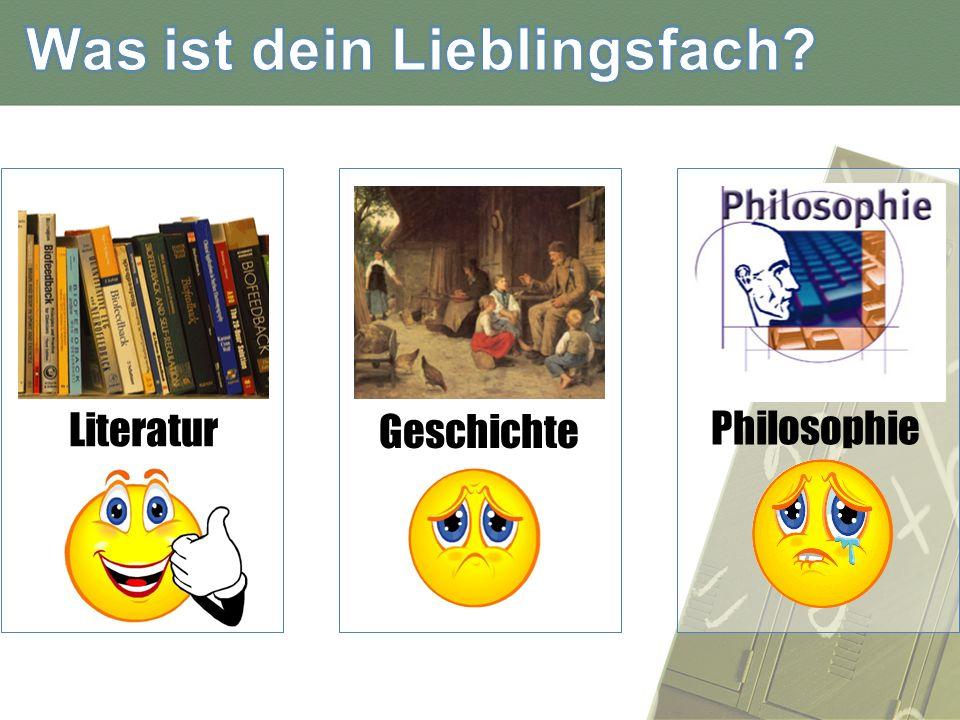 Literatur Geschichte Philosophie