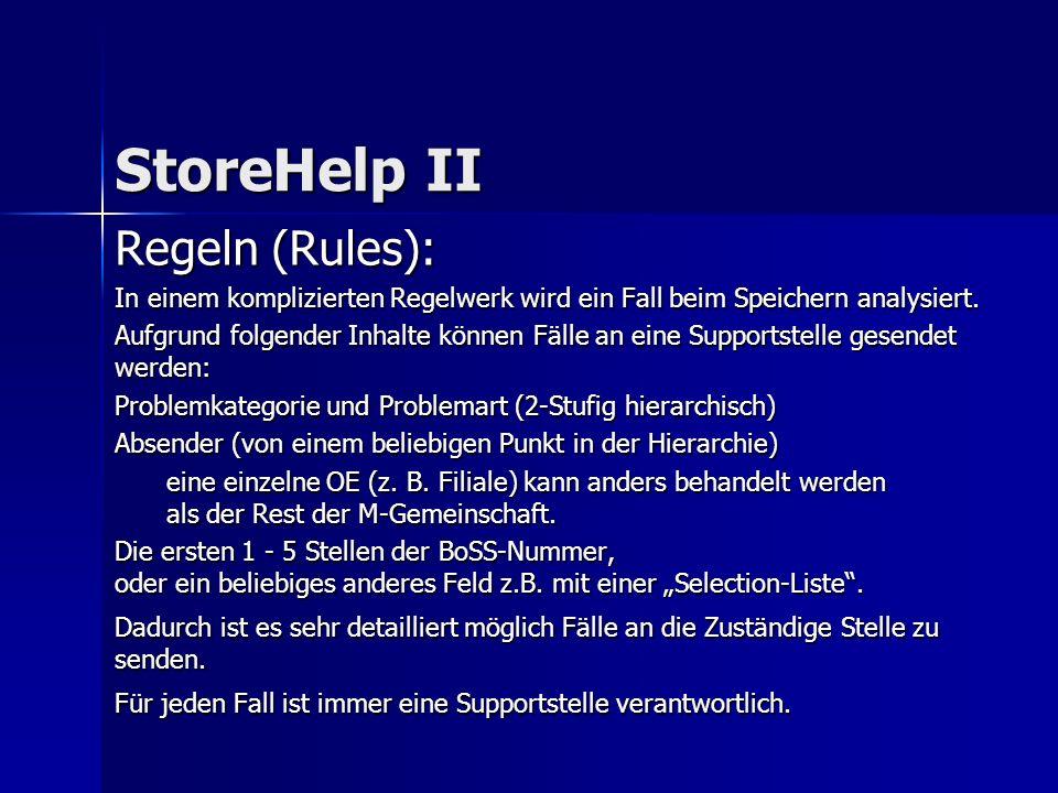 Regeln (Rules): In einem komplizierten Regelwerk wird ein Fall beim Speichern analysiert.