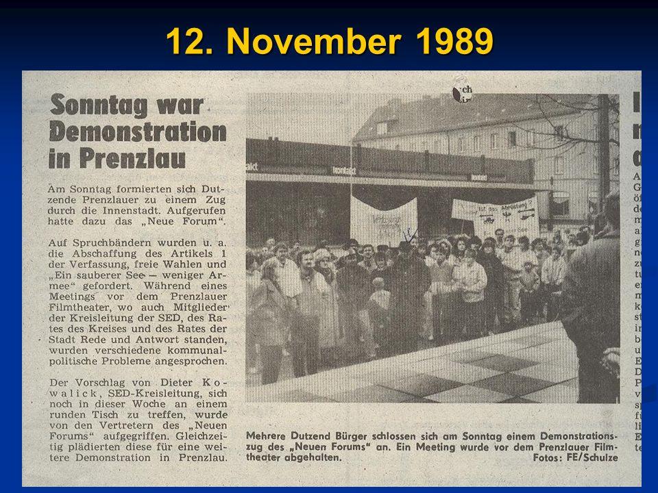 12. November 1989