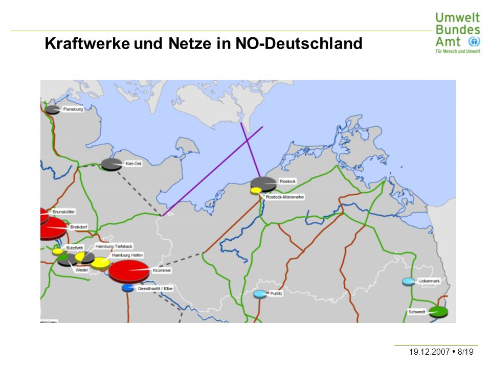 19.12.2007 8/19 Kraftwerke und Netze in NO-Deutschland