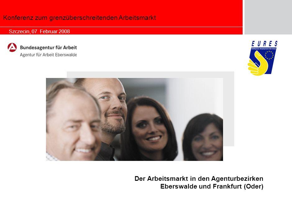 1 Allgemeine Ausgangssituation: Berlin-Brandenburg In Berlin und Brandenburg waren im Januar 2008 insgesamt 451.394 Arbeitslose gemeldet.