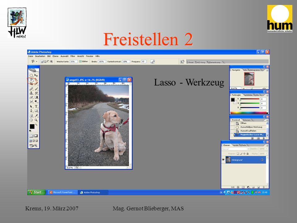 Krems, 19.März 2007Mag.