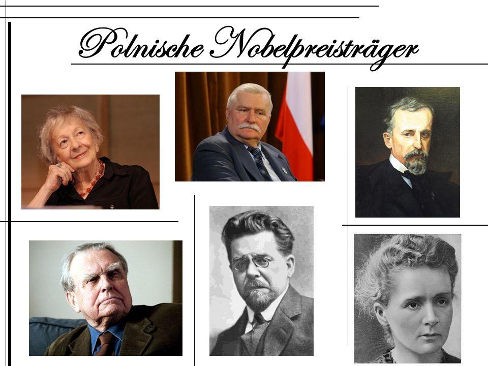 Polnische Nobelpreisträger