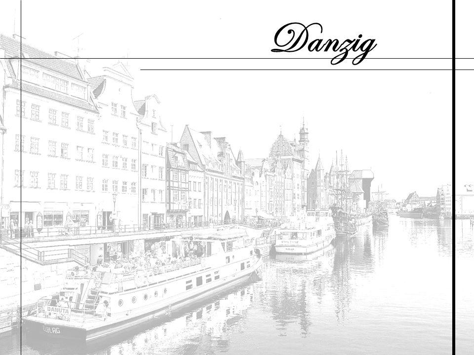 Danzig (polnisch Gdańsk ) ist eine Hafen- und ehemalige Hansestadt in Polen.