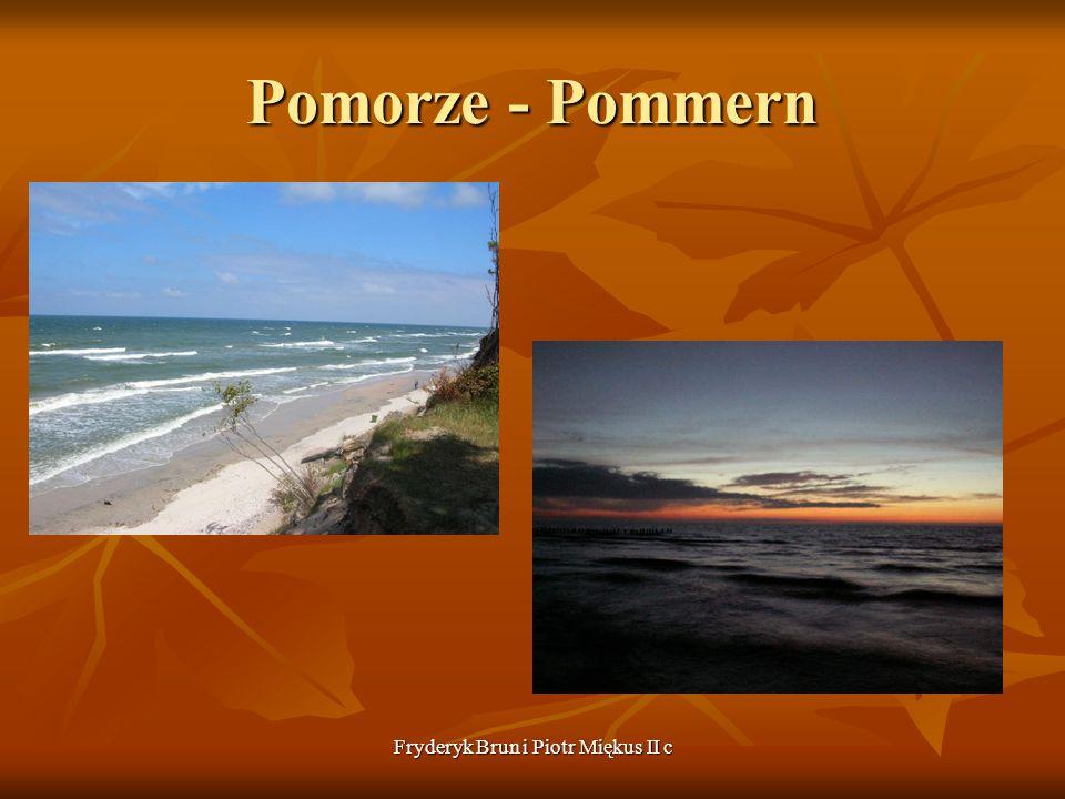 Fryderyk Brun i Piotr Miękus II c Pomorze - Pommern