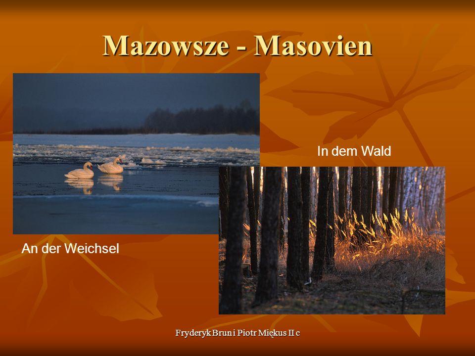 Fryderyk Brun i Piotr Miękus II c Mazowsze - Masovien An der Weichsel In dem Wald