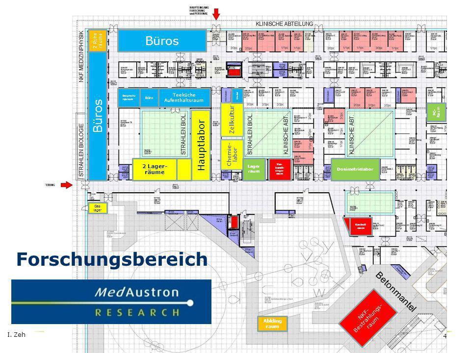 I.Zeh 5 Lager Exp. physik Büros Mechanische Werkstätte Elektr.