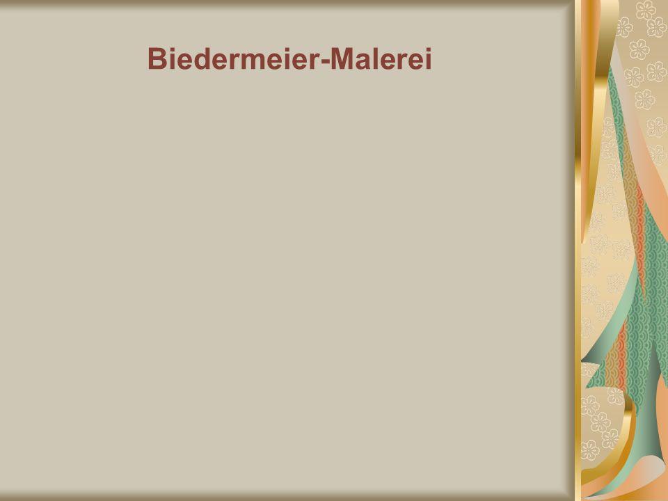 Biedermeier-Malerei