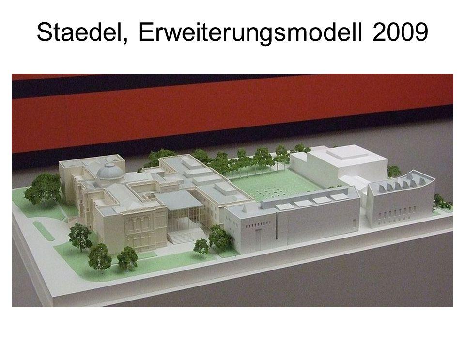 Staedel, Erweiterungsmodell 2009