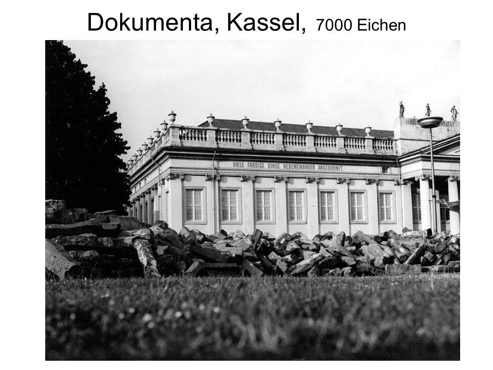 Dokumenta, Kassel, 7000 Eichen