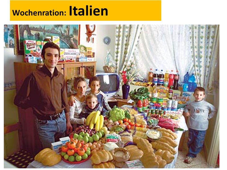 Wochenration: Italien