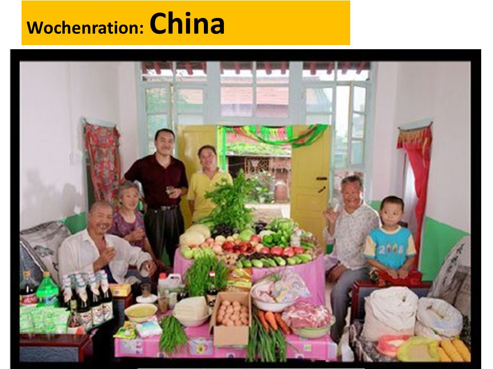 Wochenration: China
