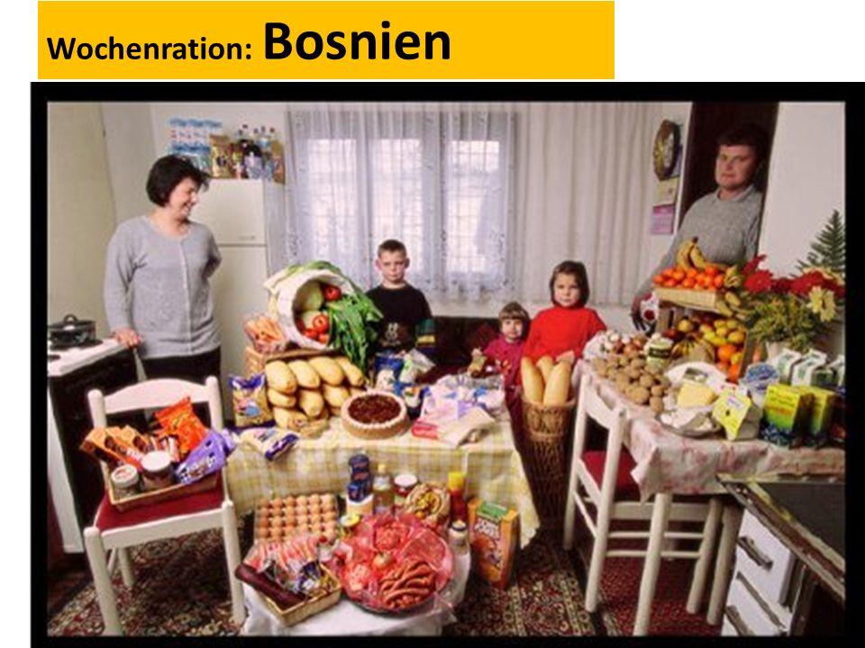 Wochenration: Bosnien