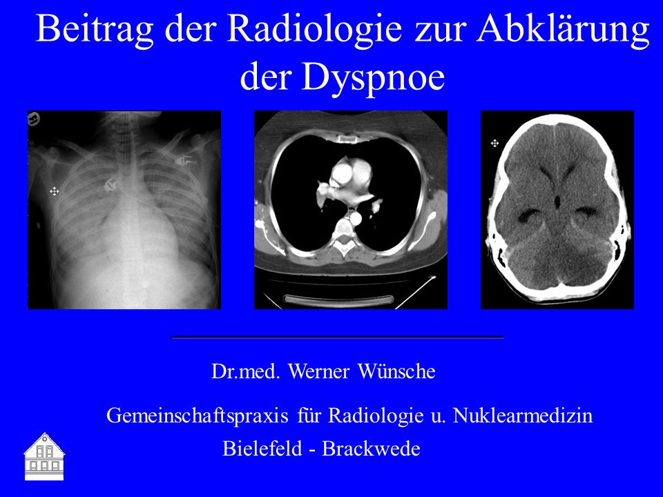 Dr.med.Werner Wünsche Gemeinschaftspraxis für Radiologie u.