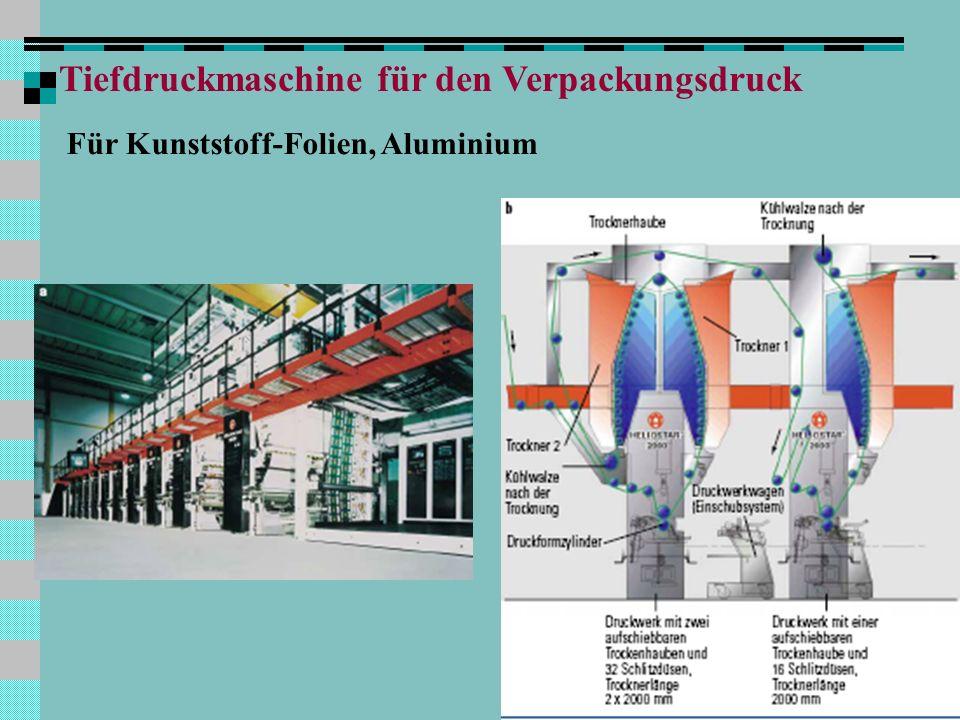 Q Tiefdruckmaschine für den Verpackungsdruck Für Kunststoff-Folien, Aluminium