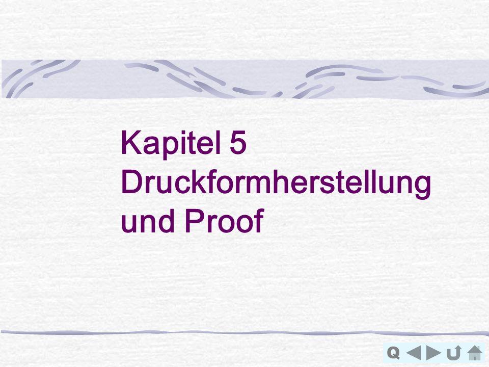 Kapitel 5 Druckformherstellung und Proof Q