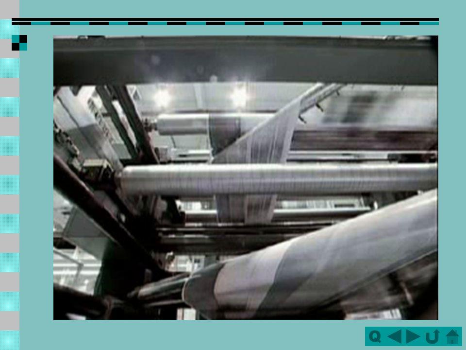 QQ Komponenten einer Rollenoffsetdruckmaschine (M-600, Heidelberg)