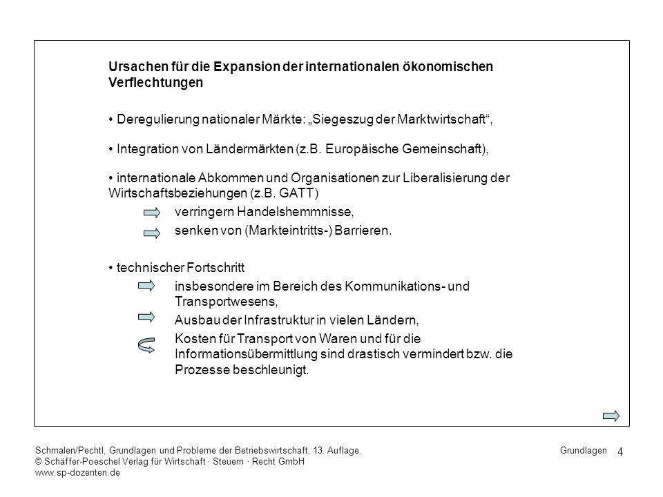 15 Schmalen/Pechtl, Grundlagen und Probleme der Betriebswirtschaft, 13.