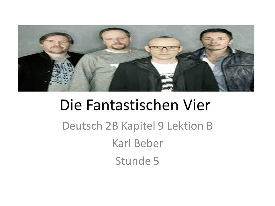 Die Fantastischen Vier Deutsch 2B Kapitel 9 Lektion B Karl Beber Stunde 5
