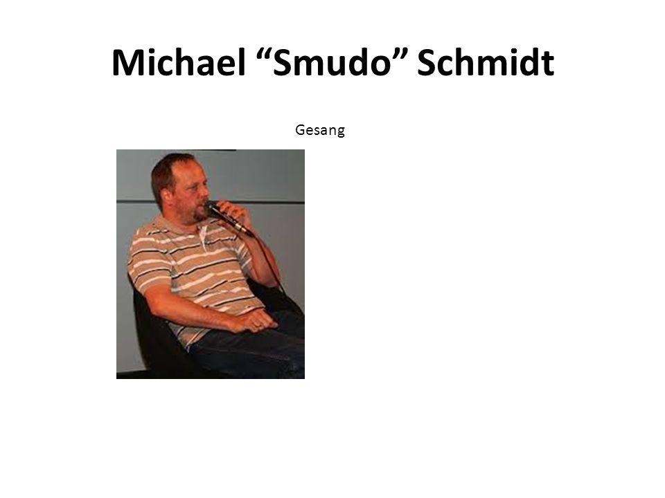 Michael Smudo Schmidt Gesang