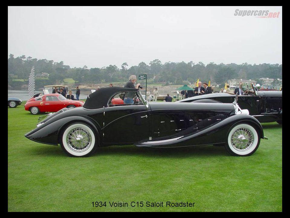 1934 Voisin C15 Saloit Roadster