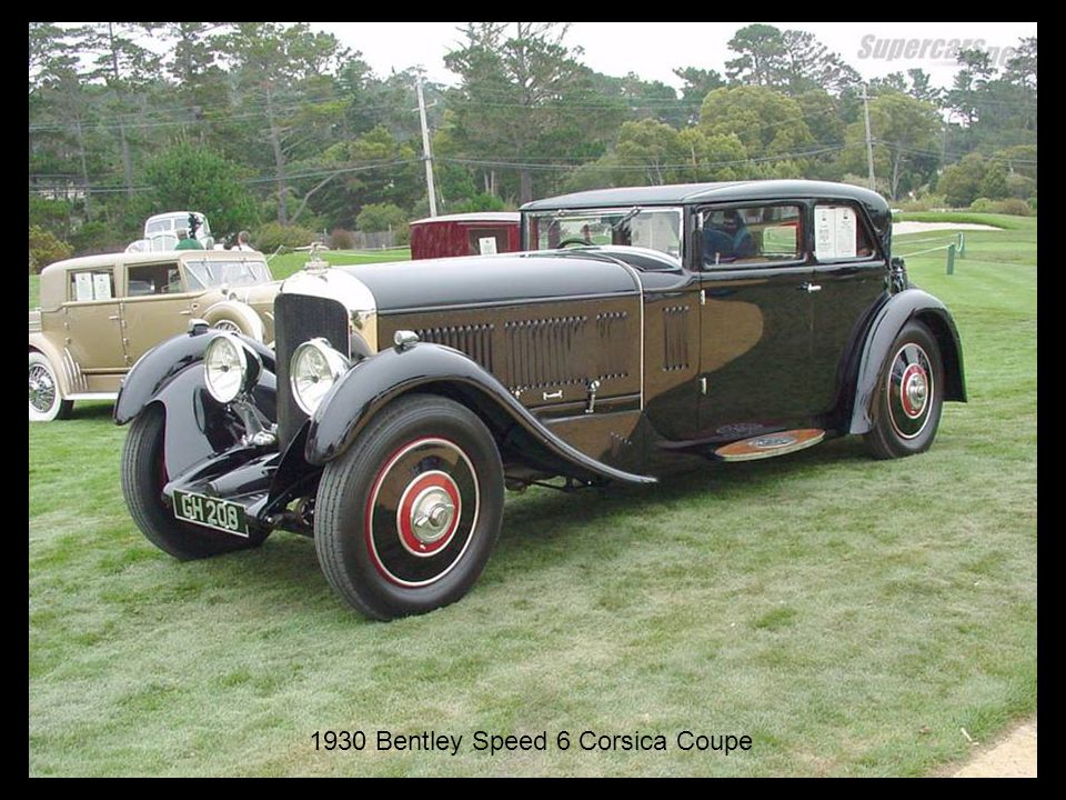 1930 Bentley Speed 6 Corsica Coupe