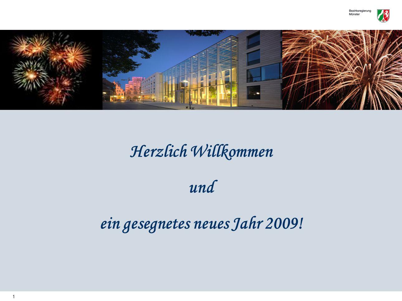 1 Herzlich Willkommen und ein gesegnetes neues Jahr 2009!