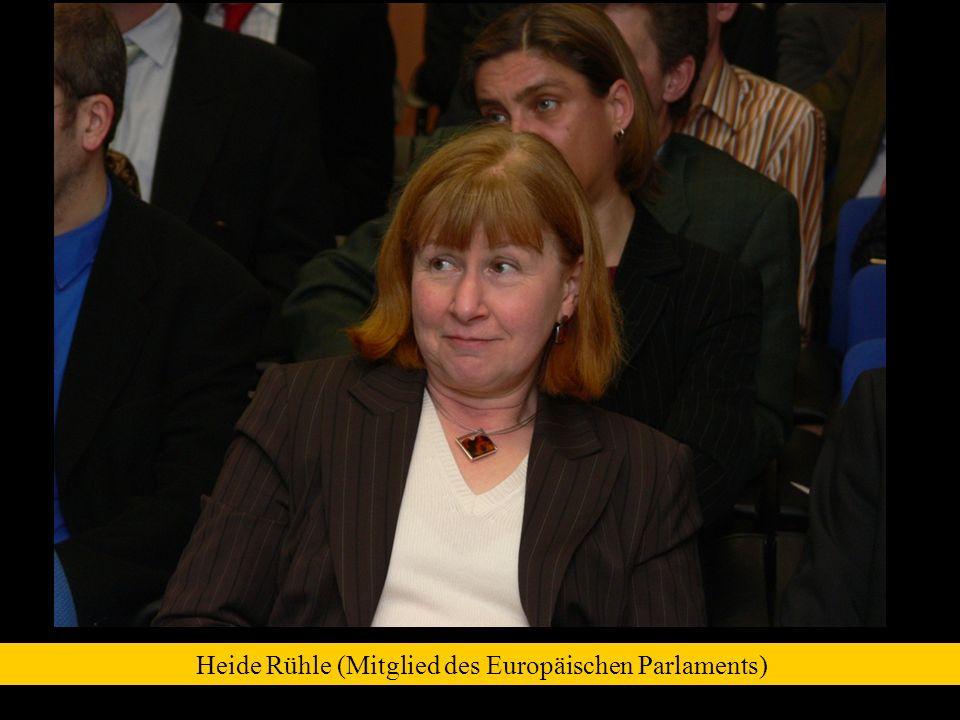 Heide Rühle (Mitglied des Europäischen Parlaments)