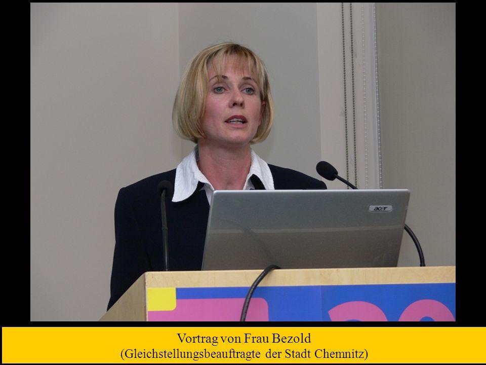 Vortrag von Herrn Ott (Europäische Kommission, GD Beschäftigung, Soziales und Chancengleichheit)