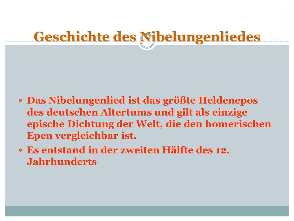 Die eventuellen Autoren Der Autor des Nibelungenlieds ist unbekannt, daher kommen mehrere Autoren in Frage: Der Kürenberger Walther von der Vogelweide