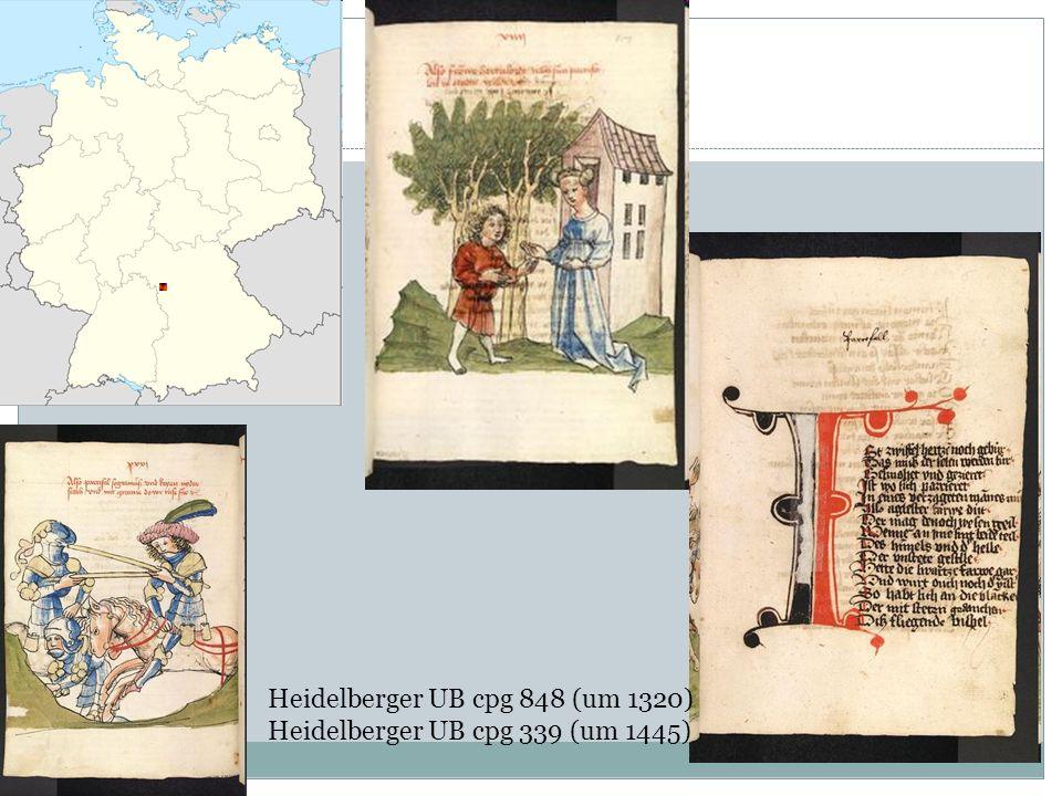 Welche Werke schuf er? 3 epische Werke Parzival Titurel Willehalm 9 Lieder überliefert 5 Tagelieder 4 Minnelieder