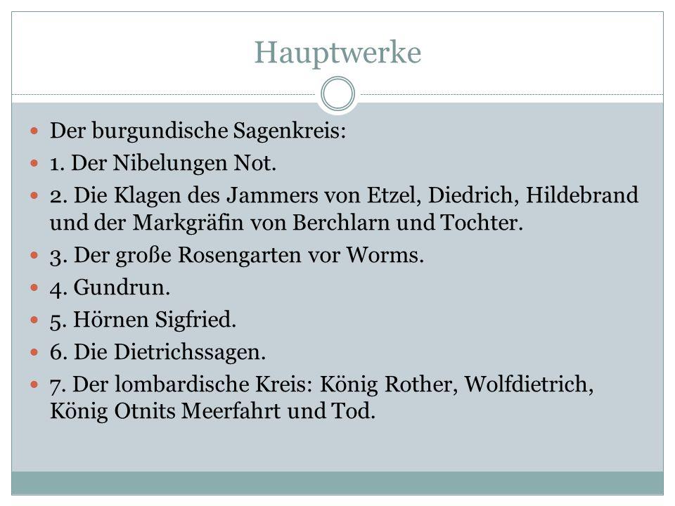Hauptdichter dieser Zeit Heinrich von Veldeke Hartmann von Aue Wolfram von Eschenbach Gottfried von Strassburg Walther von der Vogelweide Konrad von W