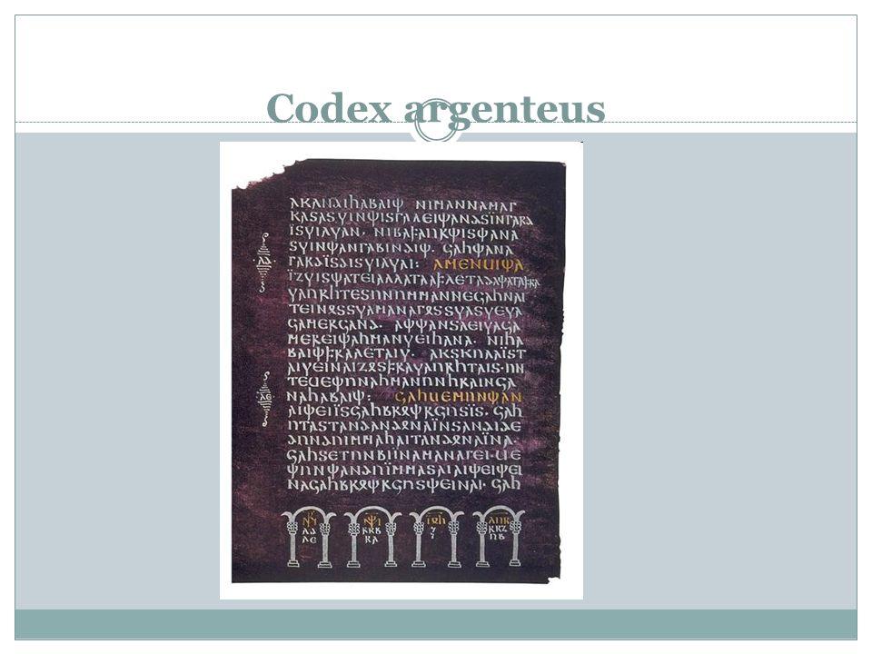 1. Zeitraum (bis 768) Tacitus Germanen = Barbaren (Griechen und Römer – literarische Werke, Germanen – keine Schrift!) 3. Jhr. – Runenschrift – keine