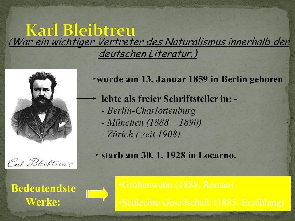 Seine theoretische Grundlage formulierte er in: Die Kunst, ihr Wesen und ihre Gesetze